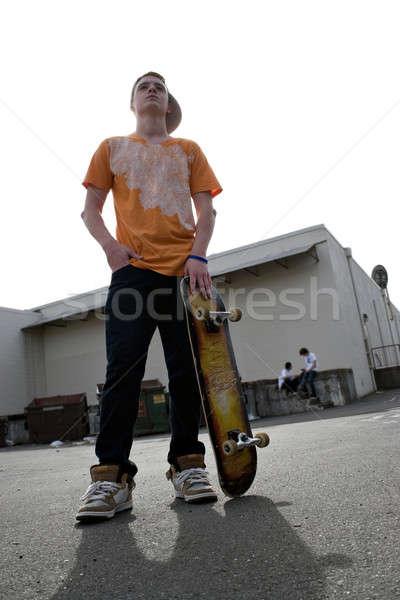 Teenage Skateboarder Stock photo © ArenaCreative