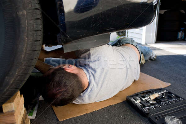 Car Maintenance and Repairs Stock photo © ArenaCreative