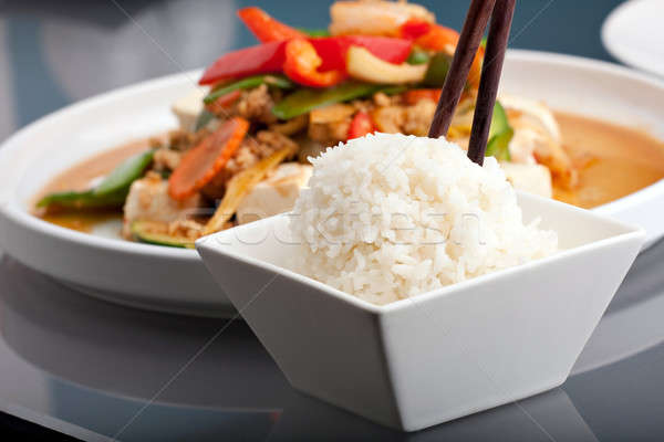 Thai Food and Jasmine Rice Stock photo © ArenaCreative