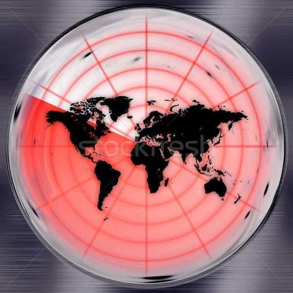 World Radar Screen Stock photo © ArenaCreative