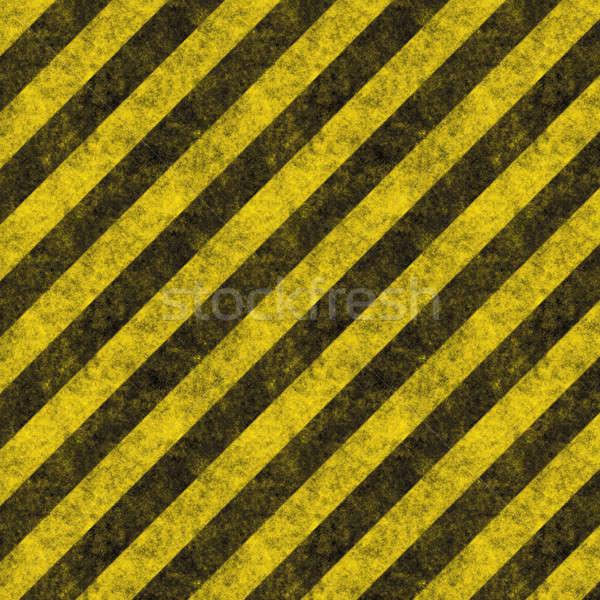 ストックフォト: ハザード · 対角線 · テクスチャ · 風化した