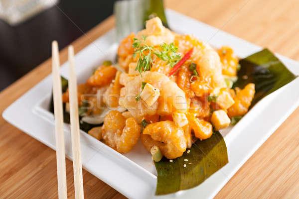 Stock photo: Popular Thai Shrimp Dish