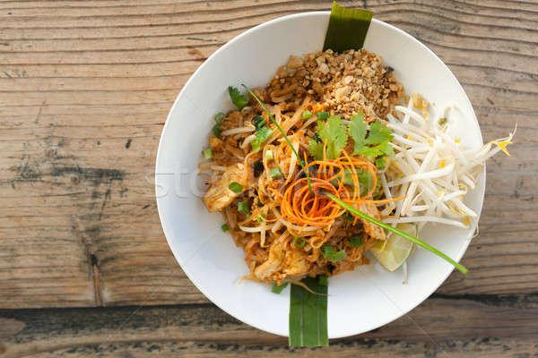 Сток-фото: куриные · тайский · Top · вниз · блюдо