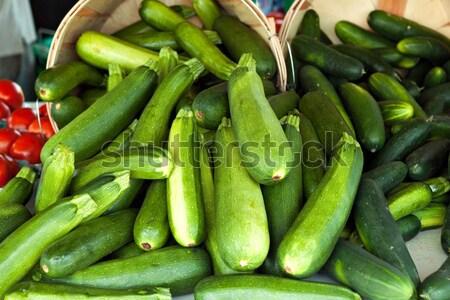 Green Zucchini Squash Stock photo © arenacreative