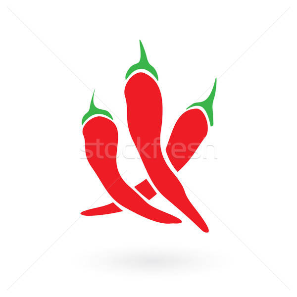 Red Hot Siracha Chilis Stock photo © arenacreative