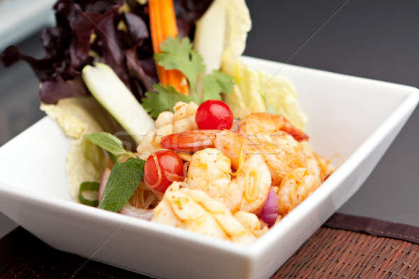 Thai Seafood Salad Stock photo © ArenaCreative