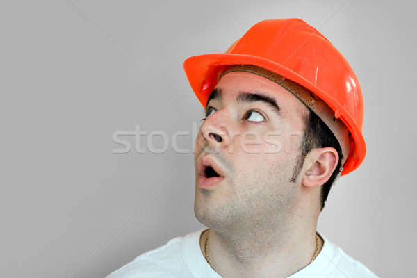 Construction Worker Stock photo © ArenaCreative