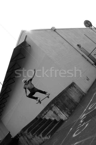 Skateboarder Airborne Stock photo © ArenaCreative