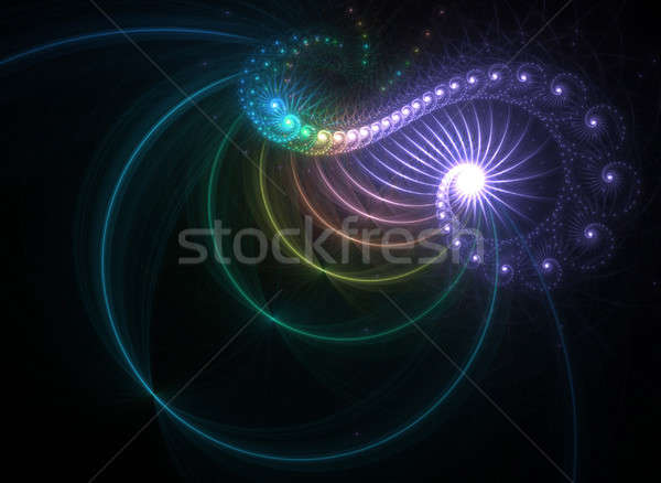 Rainbow Fractal Stock photo © ArenaCreative