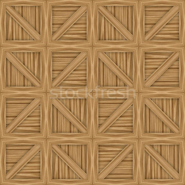 Wooden Crates Stock photo © ArenaCreative