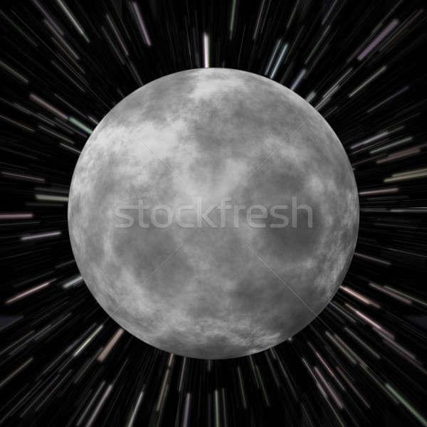 Moon Star Field Stock photo © ArenaCreative