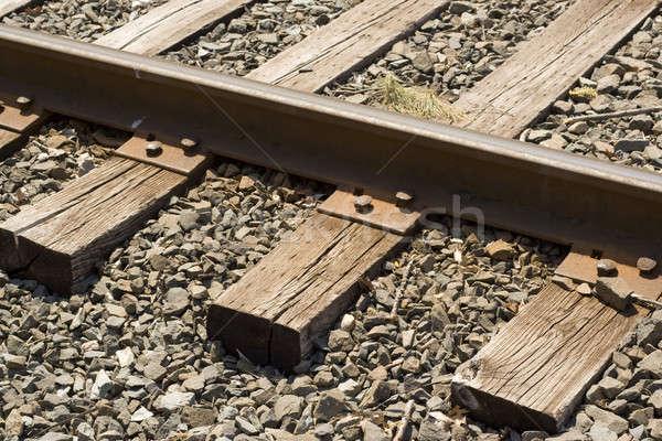 train tracks Stock photo © ArenaCreative
