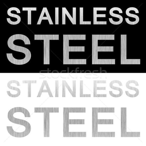 Stainless Steel Clipart Stock photo © ArenaCreative