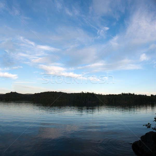 Alsó tó panoráma kilátás szigetek New York Stock fotó © ArenaCreative