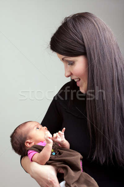 Newborn Infant Stock photo © ArenaCreative