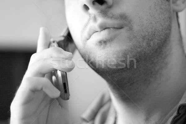 cell phone conversation Stock photo © ArenaCreative