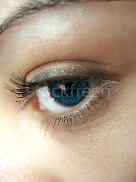 Pretty Eye Lashes Stock photo © ArenaCreative