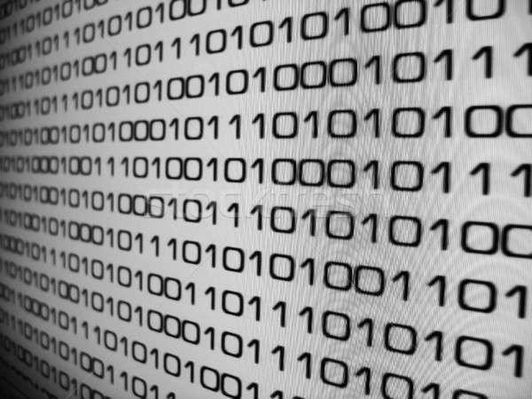 バイナリコード インターネット 抽象的な 背景 ウェブ 科学 ストックフォト © ArenaCreative