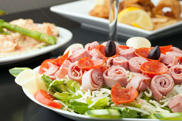 Beautiful Antipasto Salad Stock photo © ArenaCreative