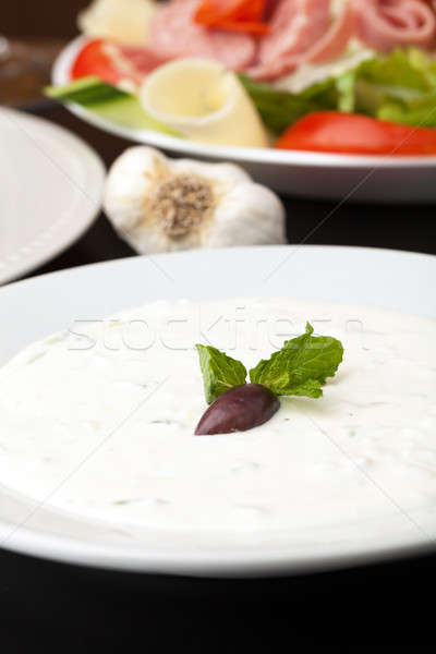 Greek Tzatziki Sauce Stock photo © arenacreative