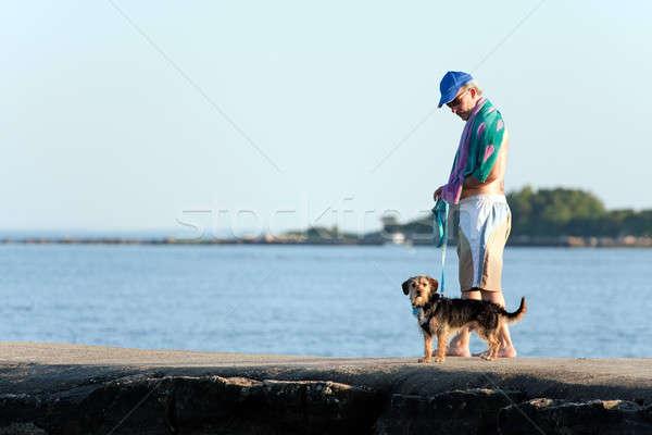 ストックフォト: 徒歩 · 犬 · かわいい · ビーグル