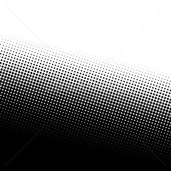 Półtonów tekstury czarno białe kopia przestrzeń streszczenie projektu Zdjęcia stock © ArenaCreative