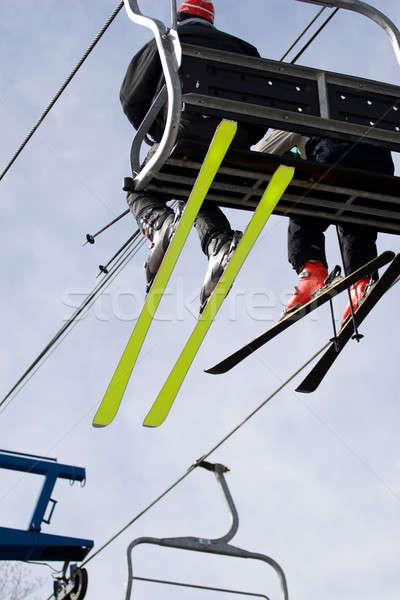 Ski Lift Chair Stock photo © ArenaCreative
