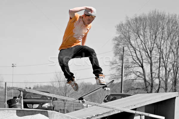 Skateboard Ramp Stock photo © ArenaCreative