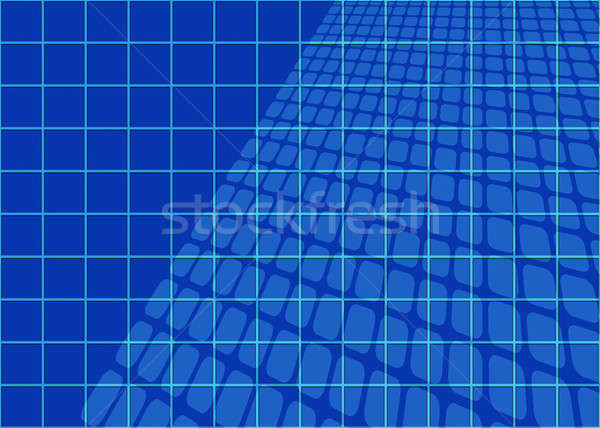 Abstract Blueprints Grid Stock photo © ArenaCreative