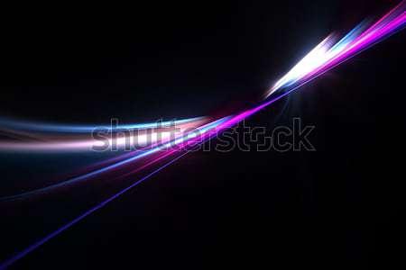 Funky Fractal Plasma Stock photo © ArenaCreative