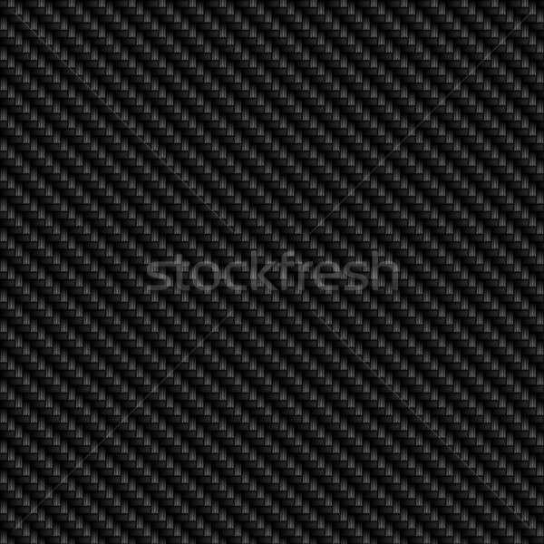 Karbon fiber gerçekçi fayans model doku dizayn Stok fotoğraf © ArenaCreative