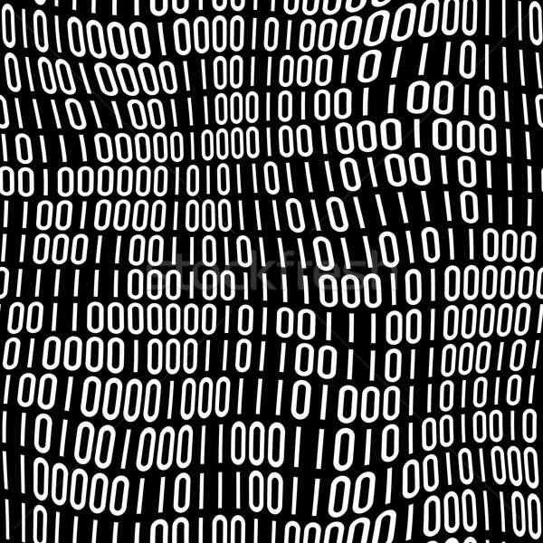Código binario patrón resumen cuadros textura fondo Foto stock © ArenaCreative