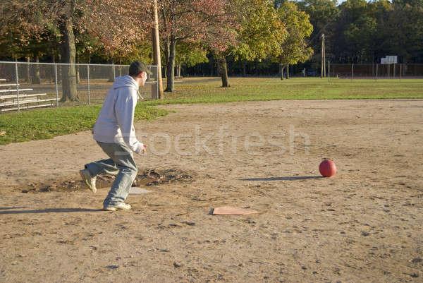 Kickball Game Stock photo © ArenaCreative
