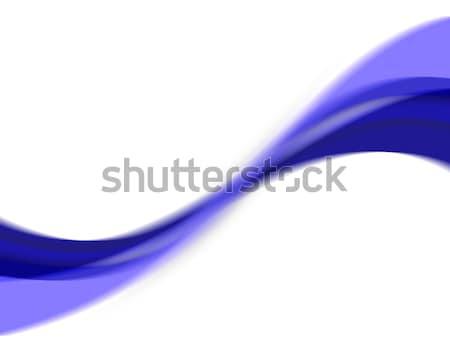 Absztrakt örvény hullámos kék elrendezés nagyszerű Stock fotó © ArenaCreative