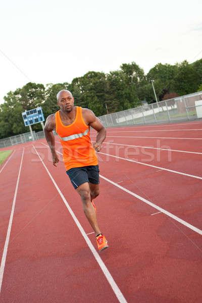 Track and Field Runner Stock photo © arenacreative