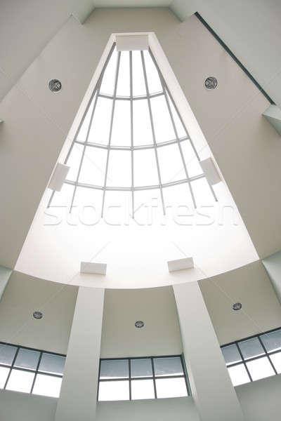 Moderne bouwkundig interieur dakraam business Stockfoto © ArenaCreative