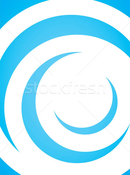 Curly Vector Layout Stock photo © ArenaCreative