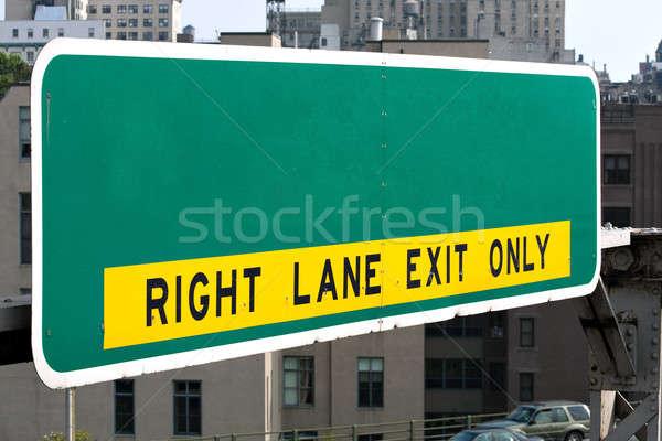 Vazio sinal da estrada lata próprio Foto stock © ArenaCreative