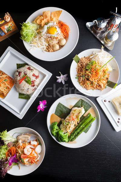 タイ料理 料理 本物の タイ ストックフォト © arenacreative