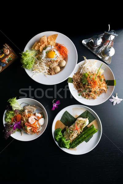 Otantik Taylandlı bulaşık mutfak Stok fotoğraf © arenacreative