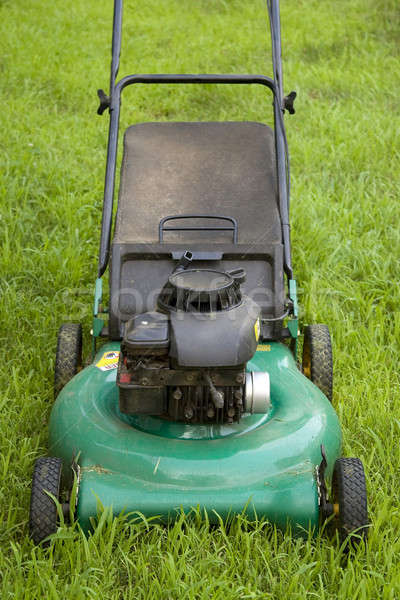 Green Lawn Mower Stock photo © ArenaCreative