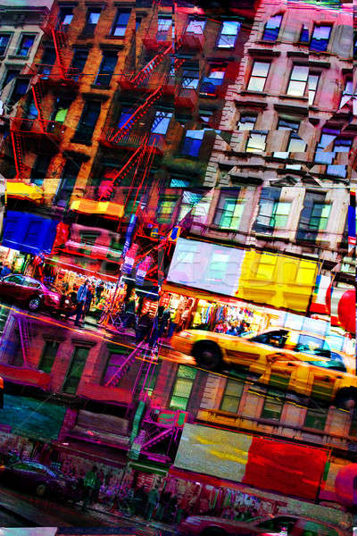 Abstract City Montage Stock photo © ArenaCreative