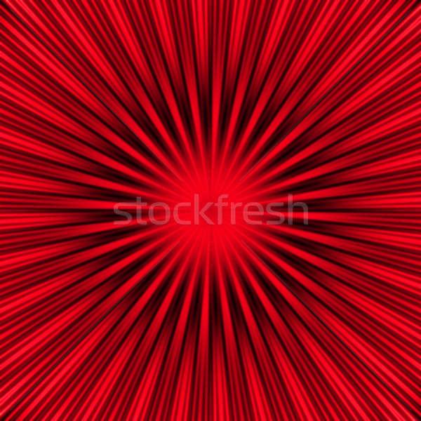 Red Burst Stock photo © ArenaCreative