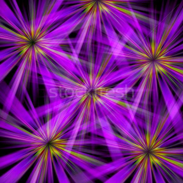 Abstract Flower Bursts Stock photo © ArenaCreative