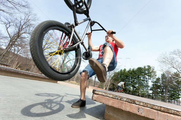 BMX Rider Falling Stock photo © arenacreative