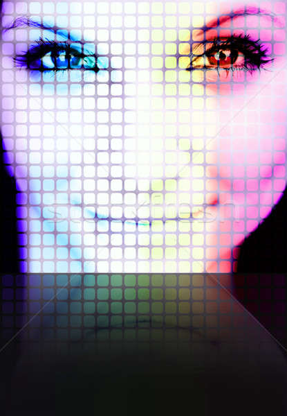 Digital Woman Stock photo © ArenaCreative