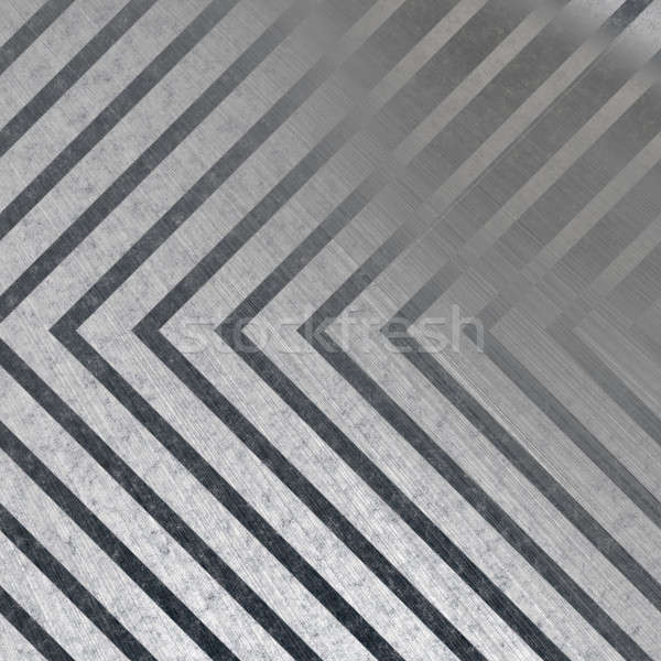Hazard Stripe Metal Stock photo © ArenaCreative