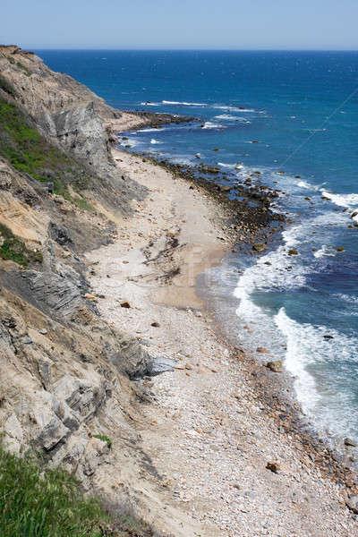 Ada Rhode Island görmek bölüm ABD plaj Stok fotoğraf © ArenaCreative