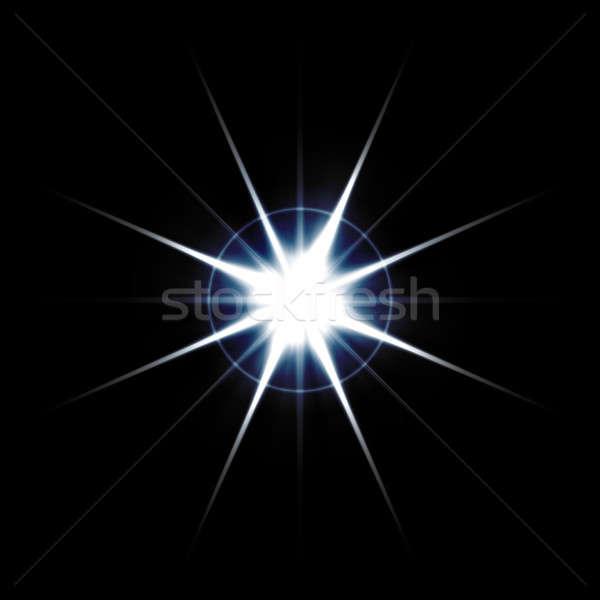 Streszczenie jasne wybuch świetle Zdjęcia stock © ArenaCreative
