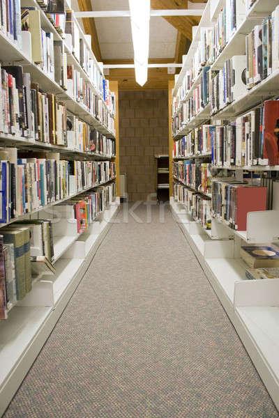 Library Aisles Stock photo © ArenaCreative